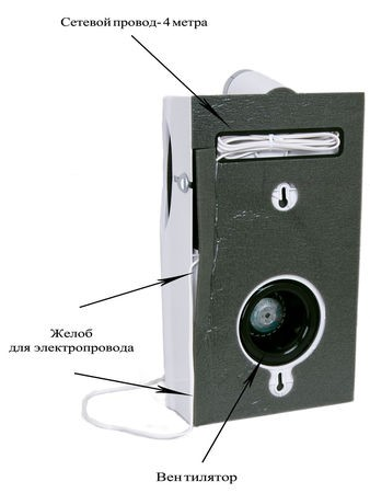 Монтаж аэрогивера Аэропак СН